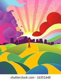Colorful Hills