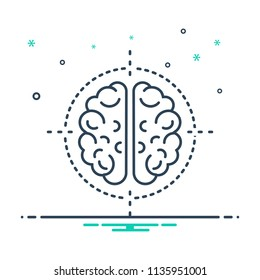 colorful icon for neurosurgery