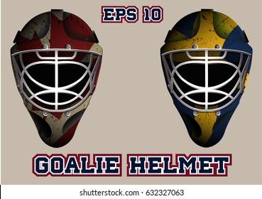 Hockey Goalie Mask Images, Stock Photos & Vectors | Shutterstock