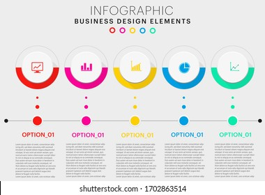 colorful infographics for business template ,vector format