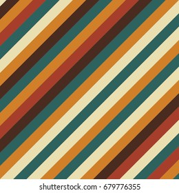 Colorful Lane Vector Pattern