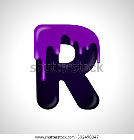 Colorful Letter R Logo Design Template Stock Vector Royalty Free