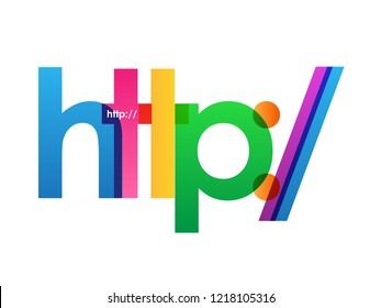 http:// colorful letters banner