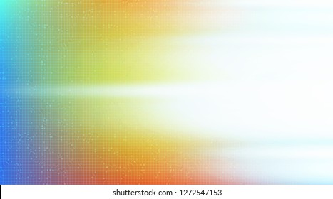 Colorful Light Speed Technology on Future Background,Hi-tech Digital Concept design,Free Space For text in put,Vector illustration.