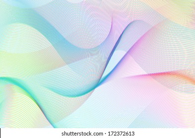 colorful line art background, linear design