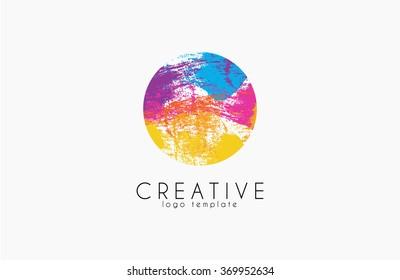 Colorful logo. web net logo icon. Company logo. Vector logo icon