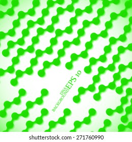 Colorful molecule DNA. Abstract background. Vector illustration. Eps10