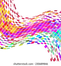 Colorful mosaic - vector
