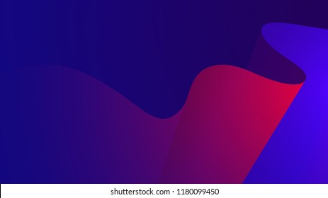 Colorful motion wave abstract vector background