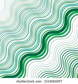 Colorful, multi color texture, pattern with wavy, waving grid, mesh of lines. Billowy, zig-zag (criss-cross), undulating stripes, streaks. Abstract geometric background with lines