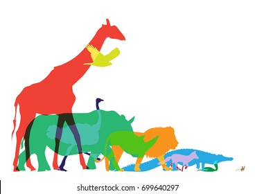 animal food chain images stock photos vectors shutterstock rh shutterstock com  food supply chain clipart