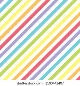 Colorful pastel rainbow pattern background for making template layout.