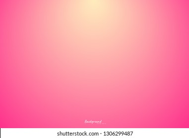 Colorful pink blurred backgrounds, valentine's day pink background, abstract gradient light pink vector Illustration