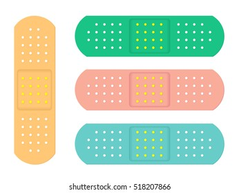 Colorful Plasters