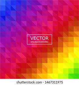 Colorful polygonal mosaic background. Used for presentation, information, technology, website, poster, business, work.