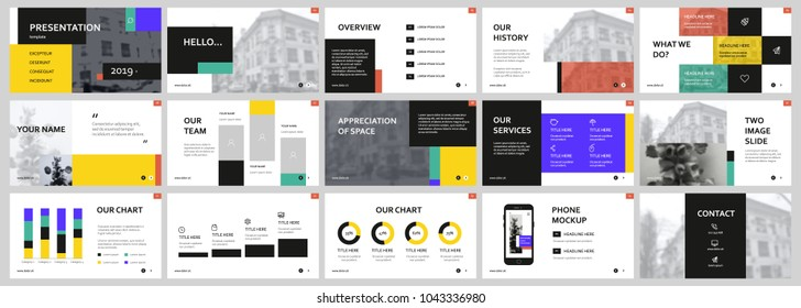 Colorful Presentation templates. Easy Use in creative flyer and leaflet, corporate report, marketing, advertising, presenting, banner.simple modern style. Slideshow, slide for brochure, booklet