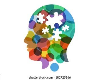 Puzzle Head Images, Stock Photos & Vectors | Shutterstock