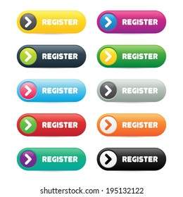 Colorful Register Buttons