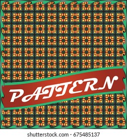 Colorful repeatable pattern background