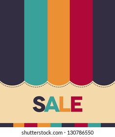 Colorful Sale concept. Bright and eye catching.