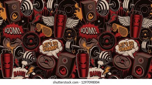 Imágenes Fotos De Stock Y Vectores Sobre Graffiti Fitnes
