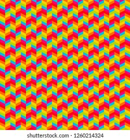 colorful seamless vector pattern of trapezium