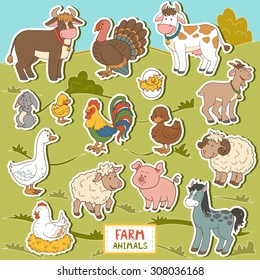 Animal Sticker Images, Stock Photos & Vectors | Shutterstock