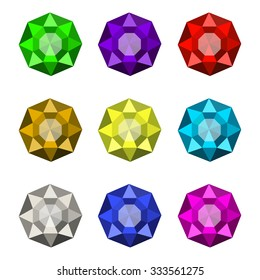 Colorful Shiny Jewels