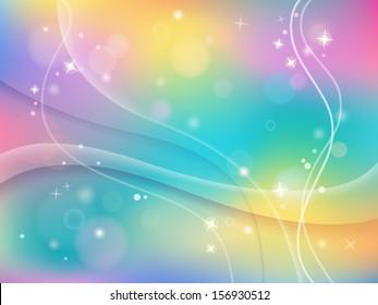 Colorful shiny summer  background