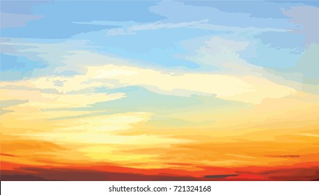 Colorful sky background,EPS10