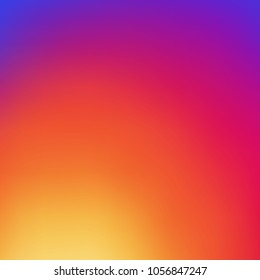 Colorful smooth gradient color Background design for your instagram project design.