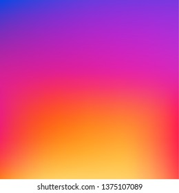 Colorful smooth gradient color Background Wallpaper