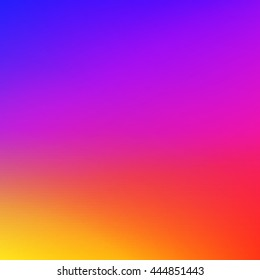 Colorful smooth gradient color Background Wallpaper. Vector illustration