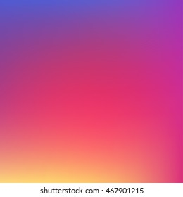 Colorful smooth gradient color Background Wallpaper. Vector illustration color Background design for your instagram new icon project design.