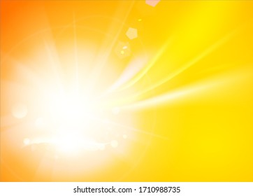 Colorful smooth light lines background. Vector illustration.