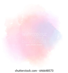 colorful soft watercolor background