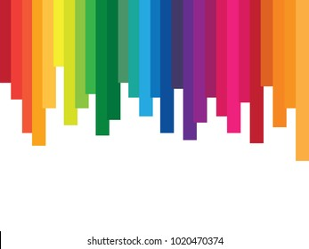 Colorful spectrum background, rainbow abstract