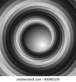 Colorful spiral vortex background. rotating, concentric circles forming a swirly effect