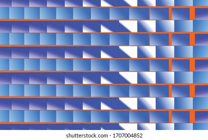 Colorful squared geometric pattern, vector background