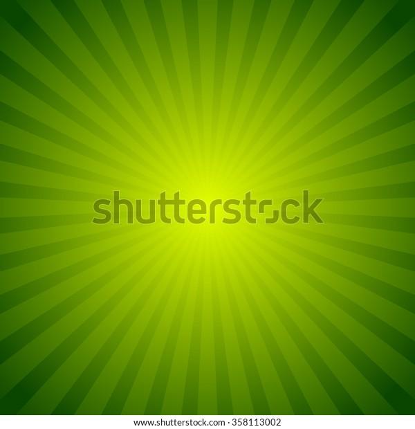 Colorful starburst, sunburst background. Radiating, converging lines. Glowing pattern, backdrop.