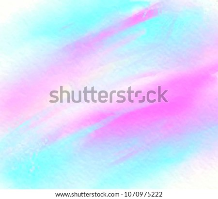 Colorful Streaks Wave Hand Darwn Paper Stock Vector (Royalty