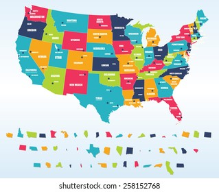 Us Map with Capital Images, Stock Photos & Vectors ...