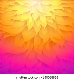 Colorful vector background. Abstract wave background.