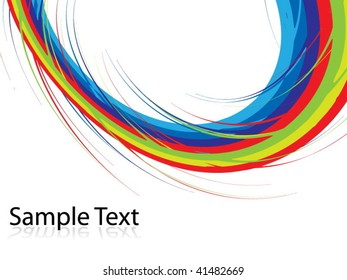 colorful vector illustration of an abstract background style
