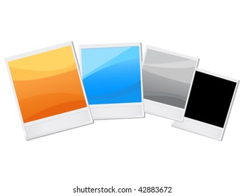 colorful vector shots. easy to edit