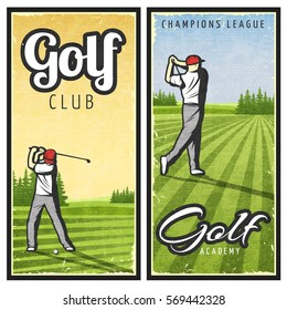 Vintage Golf Images, Stock Photos & Vectors | Shutterstock on