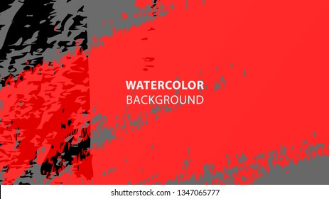 Colorful watercolor splash background design Vector