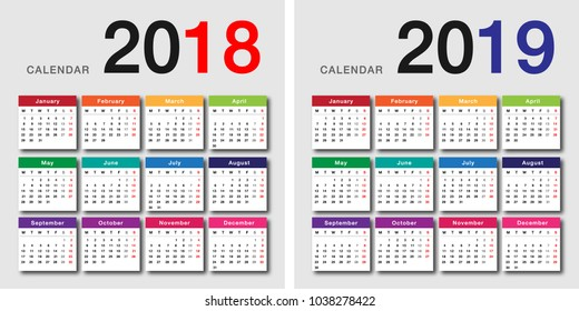 115 125 2019 2019 Calendar Images Royalty Free Stock Photos On