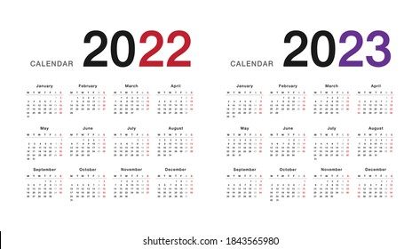 2023 And 2022 Calendar.April 2023 High Res Stock Images Shutterstock