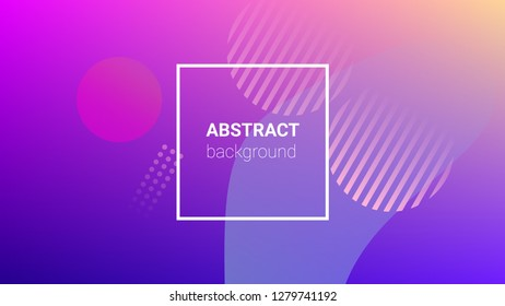 Colorfull Background. Banner Design Composition. Modern Geometric Pattern. Horizontal Orientation. Colorfull Background.